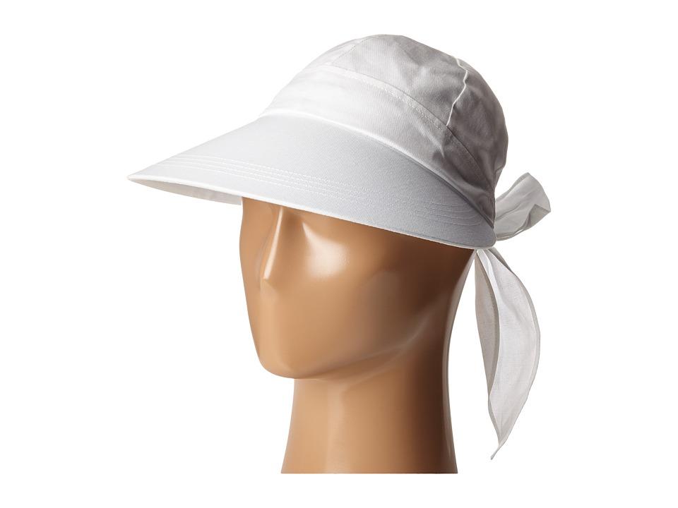 Betmar Face Framer White Caps