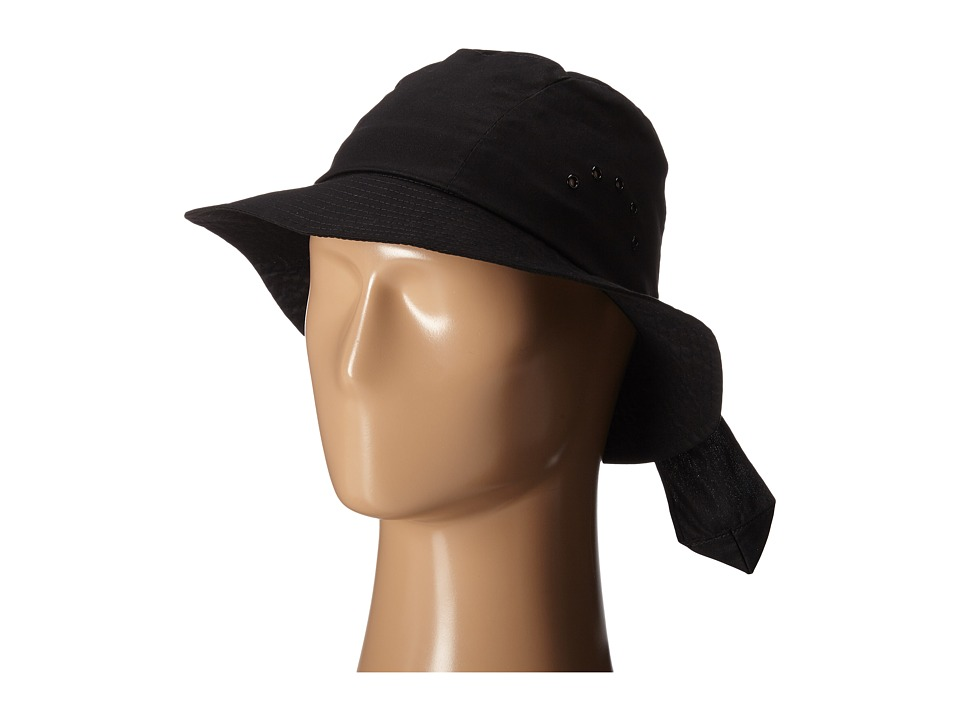 Betmar Knotted Cloche Black Caps