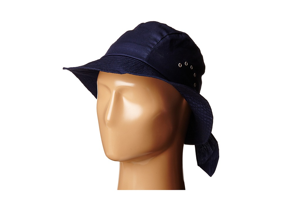 Betmar Knotted Cloche Navy Caps