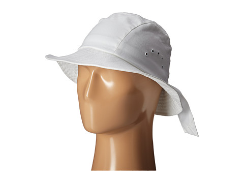 Betmar Knotted Cloche - White