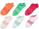 adidas Kids Superlite 6-Pack No Show (Little Kid/Big Kid/Adult)