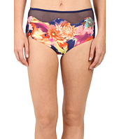 SAHA - Selene High Waist with Mesh Bikini Bottom