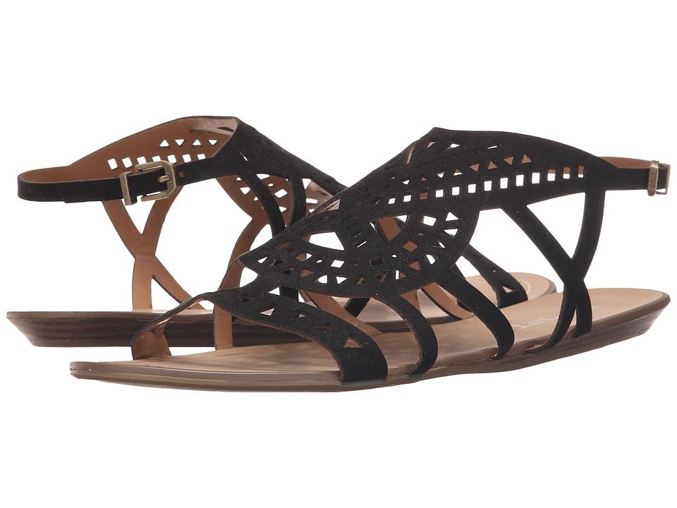 Report Lidia Black Womens Sandals