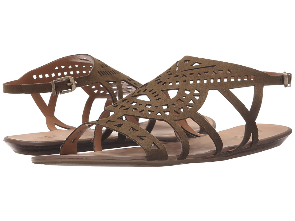 Report Lidia Olive Womens Sandals