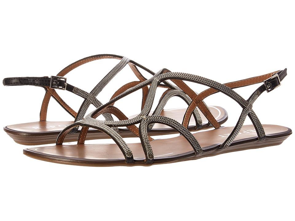 Report Locke Black Womens Sandals