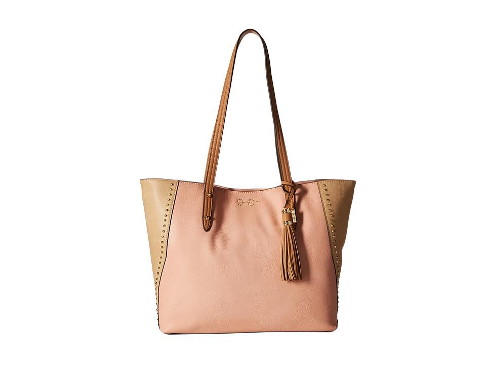 Jessica Simpson - Carole Tote (Peach/Beige/Latte) Tote Handbags