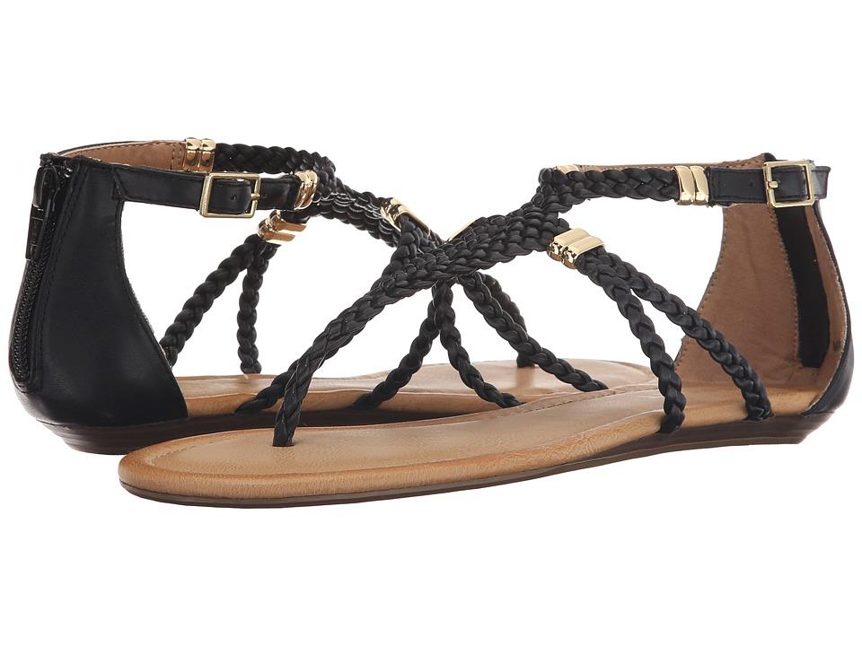 Report Lolla Black Womens Sandals