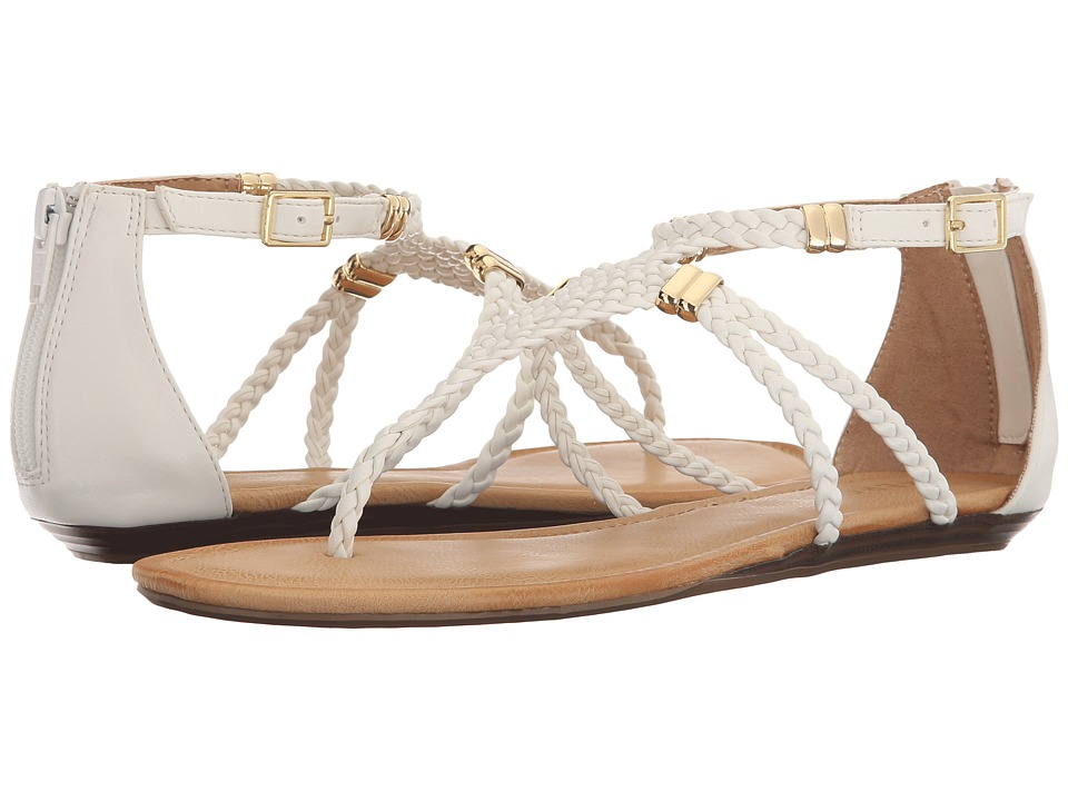 Report Lolla White Womens Sandals