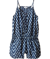 Splendid Littles - Printed Denim Romper (Big Kids)