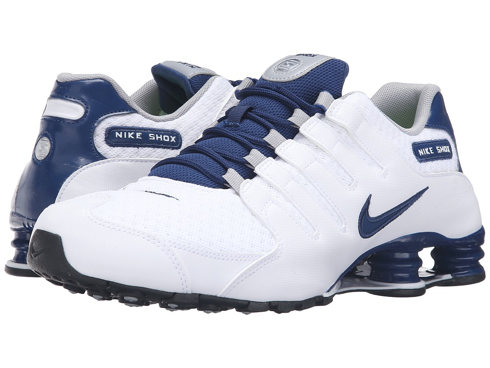 Nike - Shox NZ SE (White/Coastal Blue/Coastal Blue/Wolf Grey) Men
