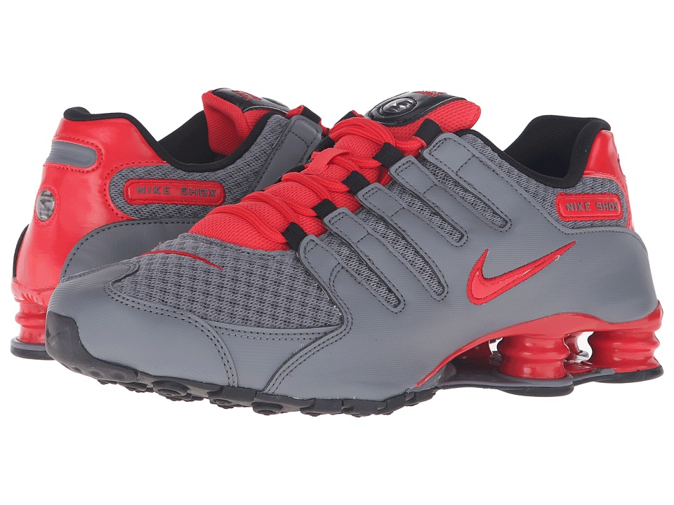 Nike - Shox NZ SE (Cool Grey/Action Red/Action Red/Black) Men