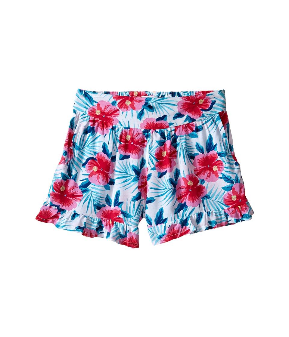 Splendid Littles All Over Print Ruffle Shorts Little Kids Print Girls Shorts