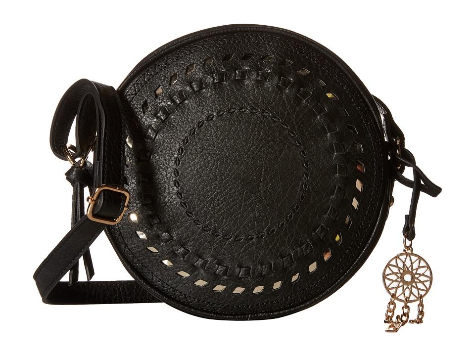 Jessica Simpson Gwen Crossbody Black Cross Body Handbags