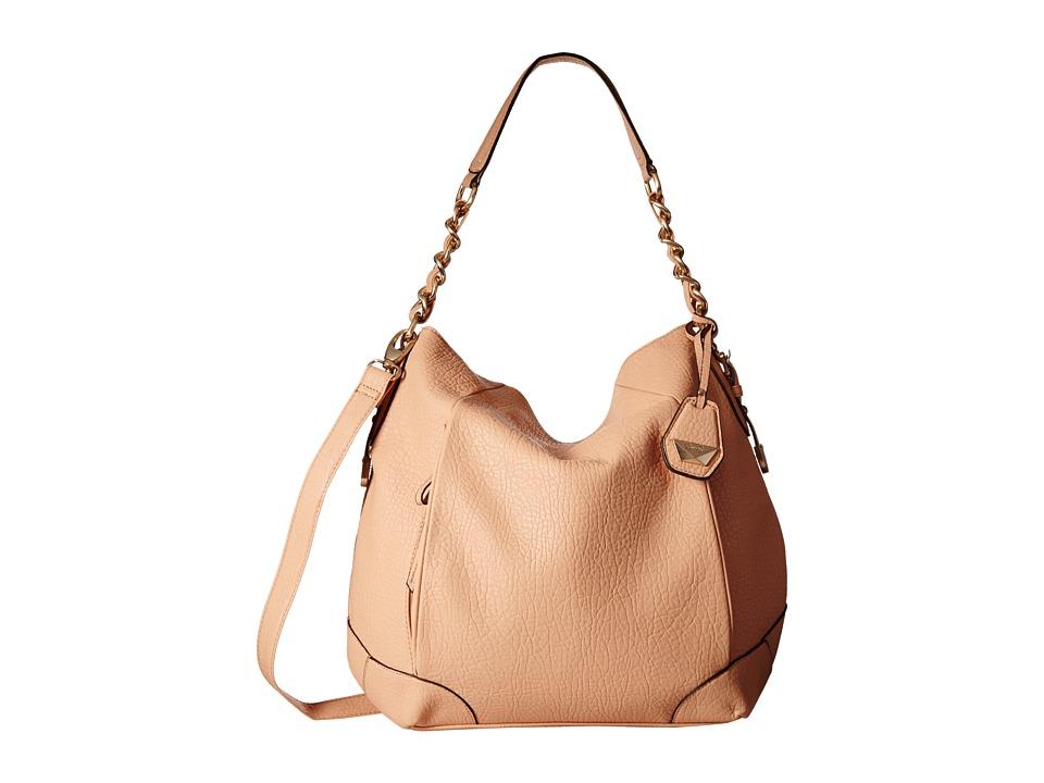 Jessica Simpson Cindy Crossbody Hobo Peach Hobo Handbags