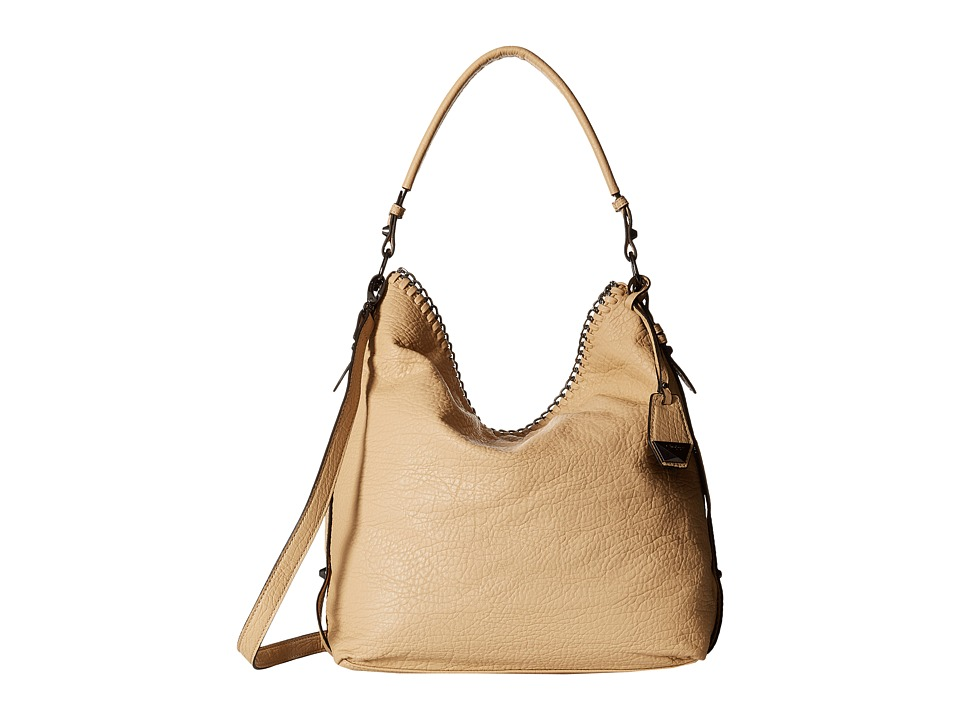 Jessica Simpson - Lizzie Hobo (Beige) Hobo Handbags