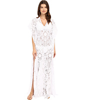 SAHA - Freya Maxi Crochet Dress with Cleavage Cover-Up