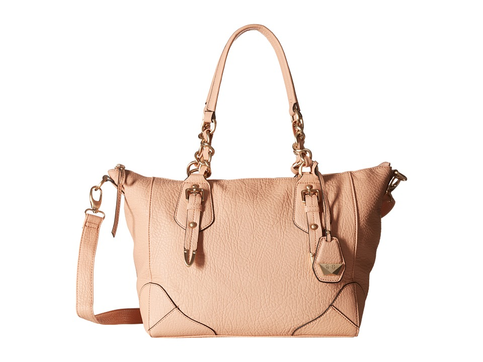Jessica Simpson Cindy Crossbody Satchel Peach Satchel Handbags