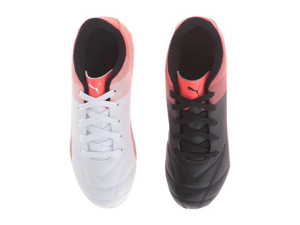 Puma Kids - Adreno II FG Jr Soccer (Little Kid/Big Kid) (Puma Black/Puma White/Red Blast) Boys Shoes
