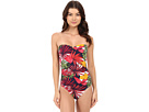 Remy V-Front Bandeau Cup One-Piece