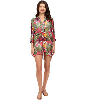Tommy Bahama - Remy Mandarin Collar Tunic Cover-Up