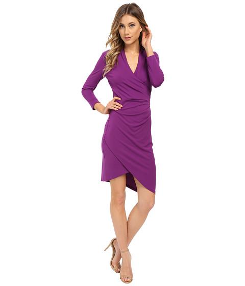 Nicole Miller - Stefanie Long Sleeve Dress (Byzantium) Women's Dress