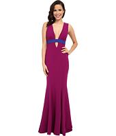 Nicole Miller - Viola Color Block Gown