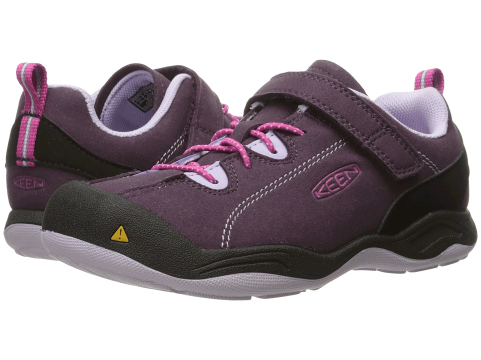 Keen Kids Jasper (Toddler/Little Kid) (Plum/Lilac Pastel) Girls Shoes