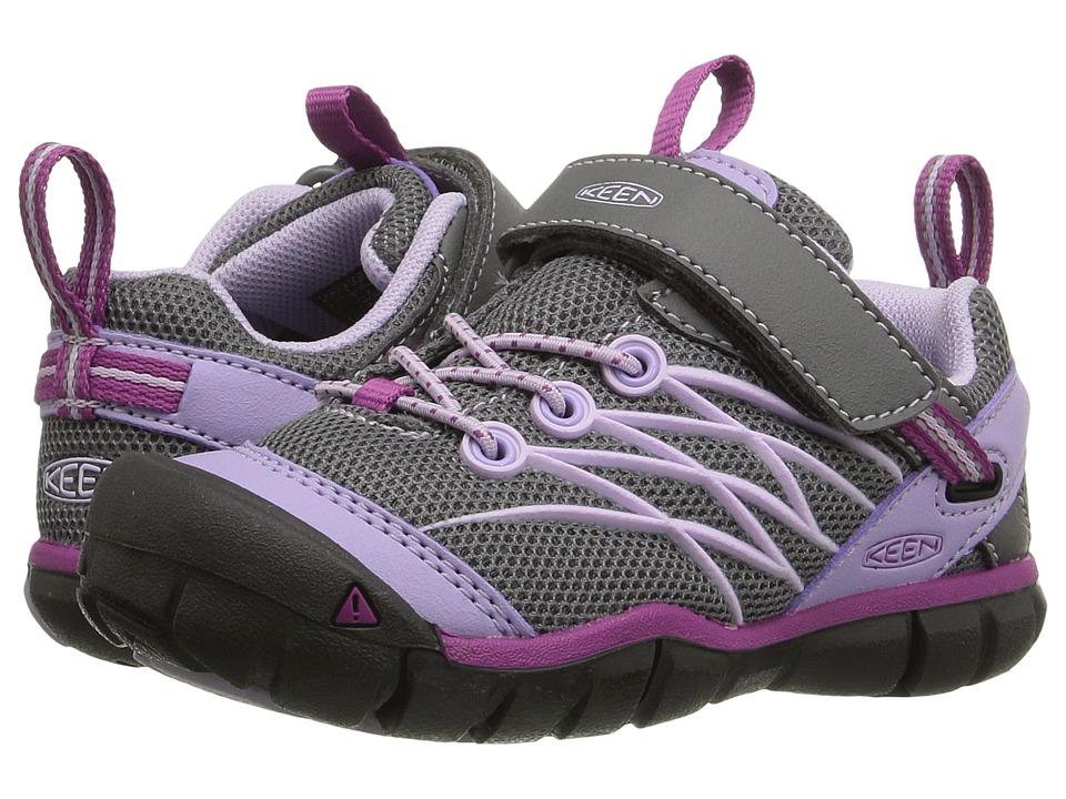 Keen Kids Chandler CNX (Toddler/Little Kid) (Pastel Lilac/Purple Wine) Girls Shoes