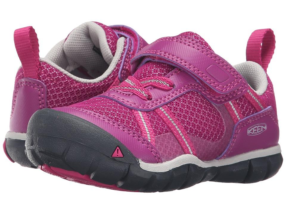 Keen Kids Monica CNX (Toddler/Little Kid) (Purple Wine/Very Berry) Girls Shoes