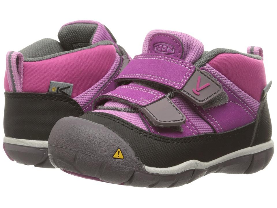 Keen Kids Peek-A-Shoe (Toddler) (Purple Wine/Violet) Girls Shoes