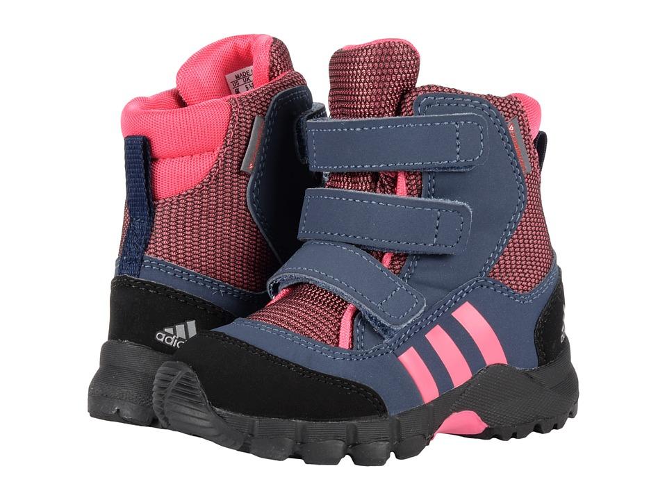adidas Outdoor Kids CW Holtanna Snow CF (Toddler) (Bahia Pink/Bahia Pink/Collegiate Navy) Girls Shoes