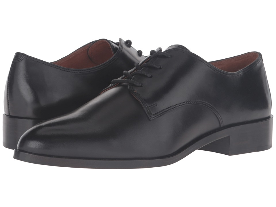 Frye - Erica Oxford (Black Smooth Veg Calf) Women