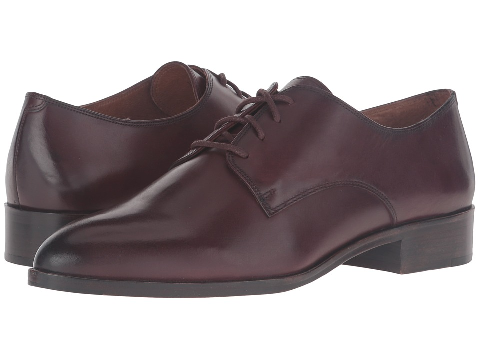 Frye - Erica Oxford (Bordeaux Smooth Veg Calf) Women