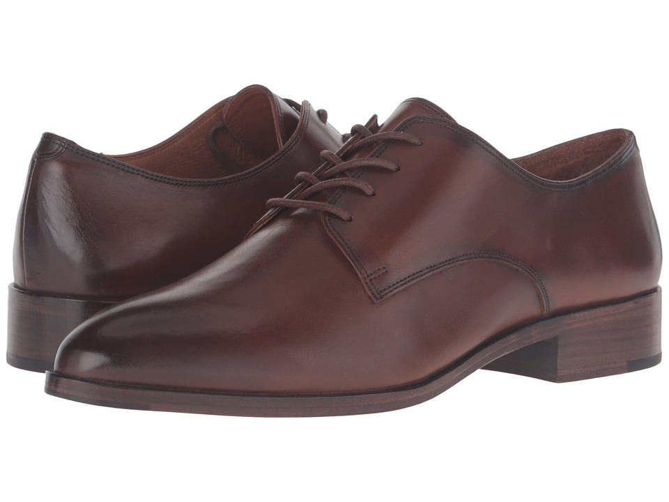 Frye - Erica Oxford (Whiskey Smooth Veg Calf) Women