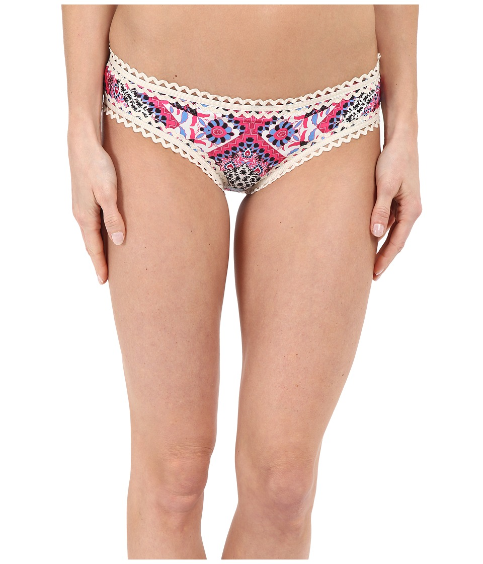 BECCA by Rebecca Virtue Secret Garden Hipster Bottom Multi Womens Swimwear