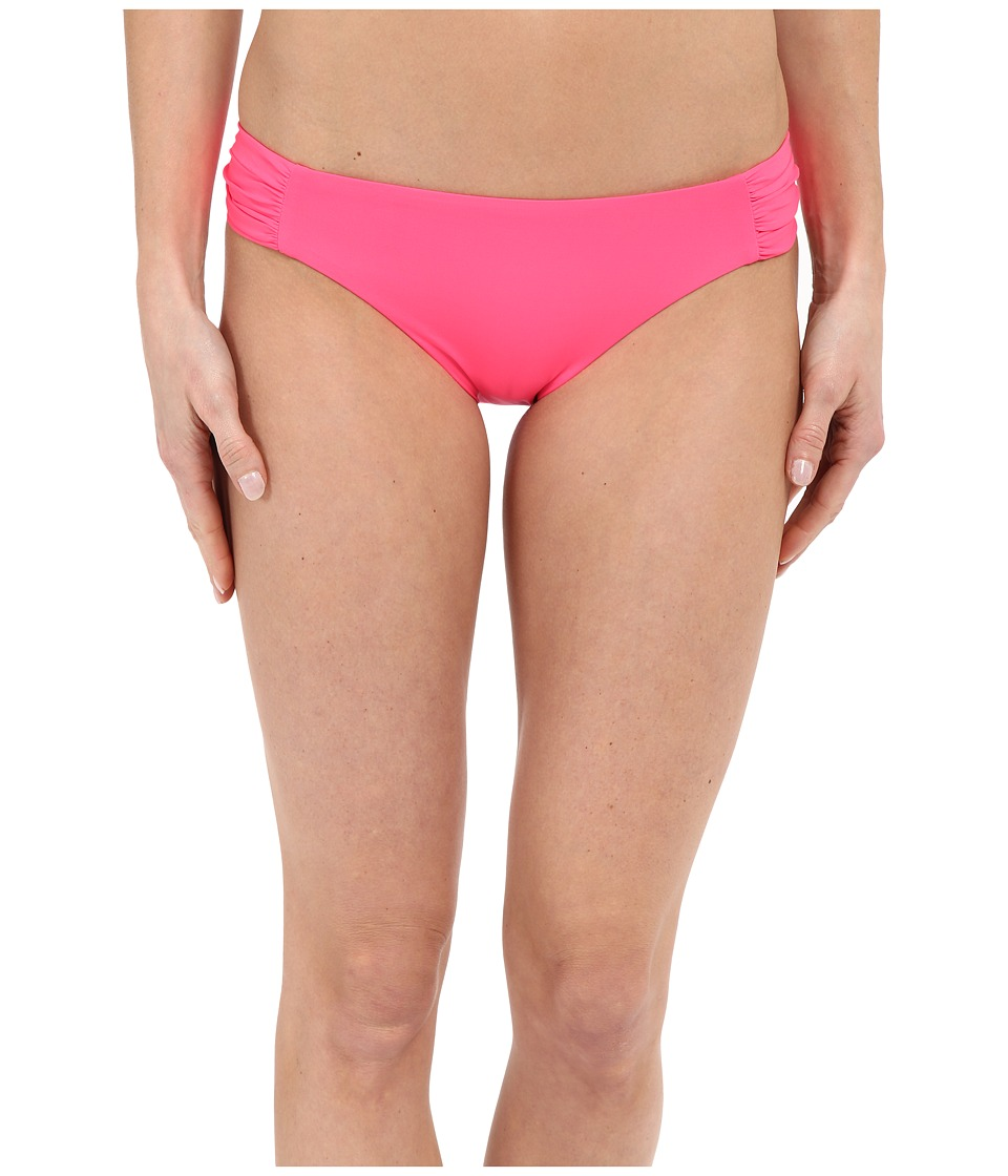 BECCA by Rebecca Virtue Color Code Tab American Bottom Poppy Womens Swimwear
