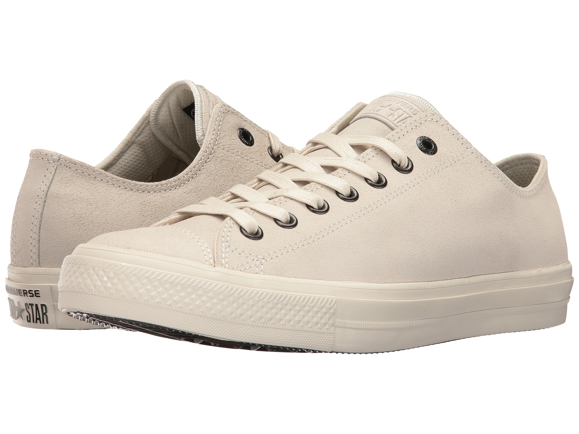 Converse by john varvatos chuck taylor all star ii for Converse chuck ii craft leather low top