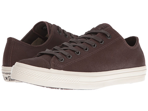 Converse by John Varvatos Chuck Taylor® All Star® II Coated Leather Ox - Brown/Turtledove