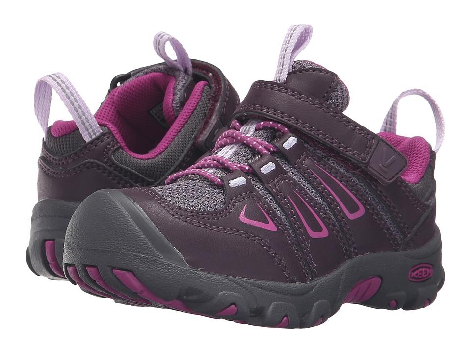 Keen Kids Oakridge Low (Toddler/Little Kid) (Plum/Purple Wine) Girls Shoes