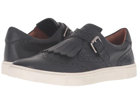 Frye Gemma Kiltie - Black Smooth Vintage Leather