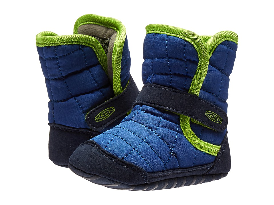Keen Kids Rover Crib (Infant) (True Blue/Macaw) Boys Shoes