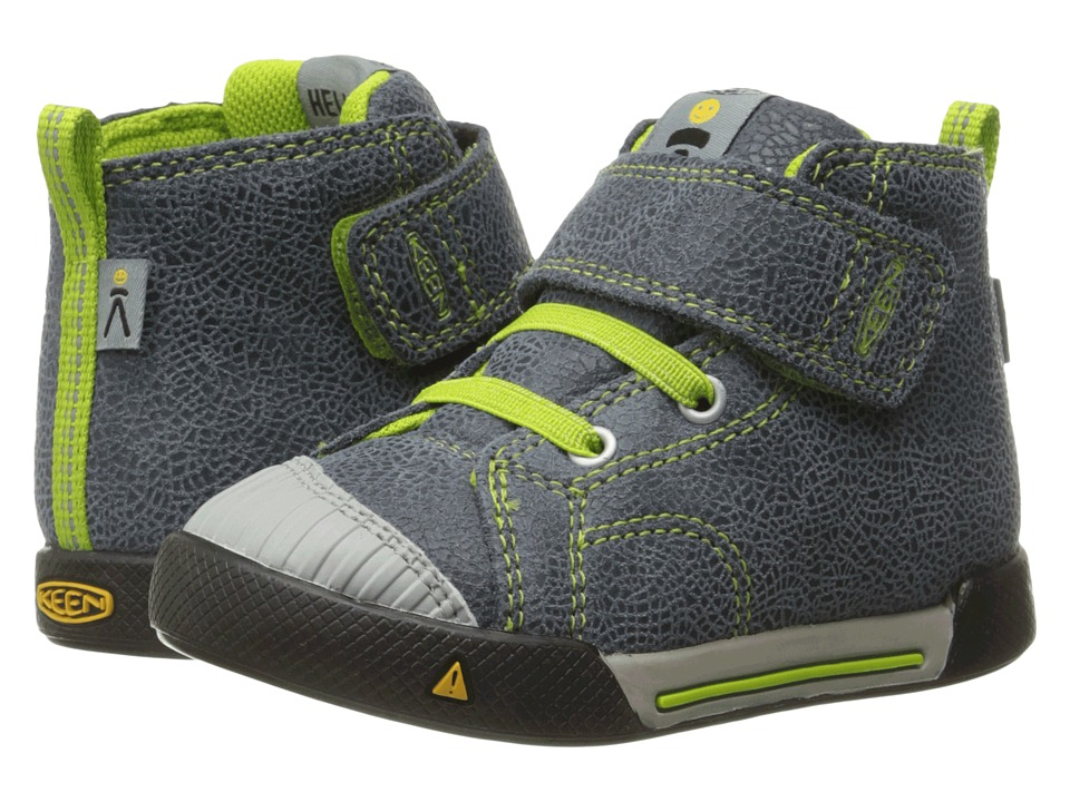 Keen Kids - Encanto Scout High Top (Toddler) (Black/Macaw) Boys Shoes