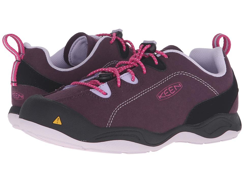 Keen Kids Jasper (Little Kid/Big Kid) (Plum/Lilac Pastel) Girls Shoes