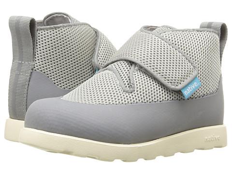 Native Kids Shoes Fitzroy Fast Boot (Toddler/Little Kid) - Pigeon Grey/Dark Pigeon Grey/Bone White