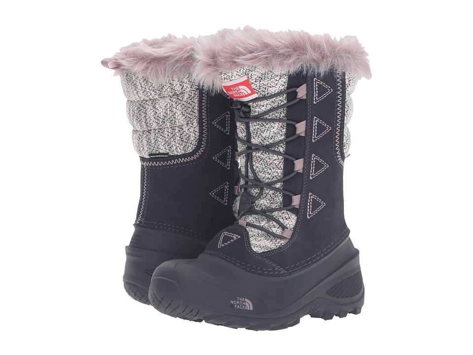 The North Face Kids - Shellista Lace Novelty II (Toddler/Little Kid/Big Kid) (Nine Iron Grey/Quail Grey) Girls Shoes
