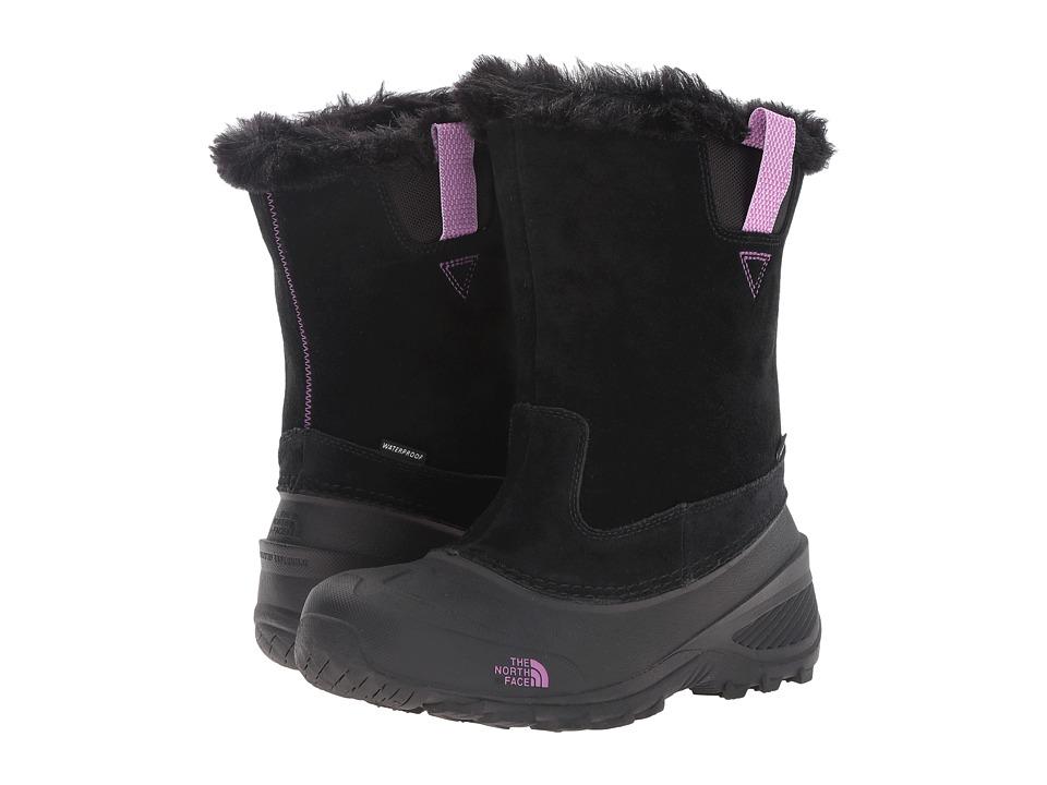 The North Face Kids Shellista Pull-On II (Toddler/Little Kid/Big Kid) (TNF Black/Lux Purple) Girls Shoes
