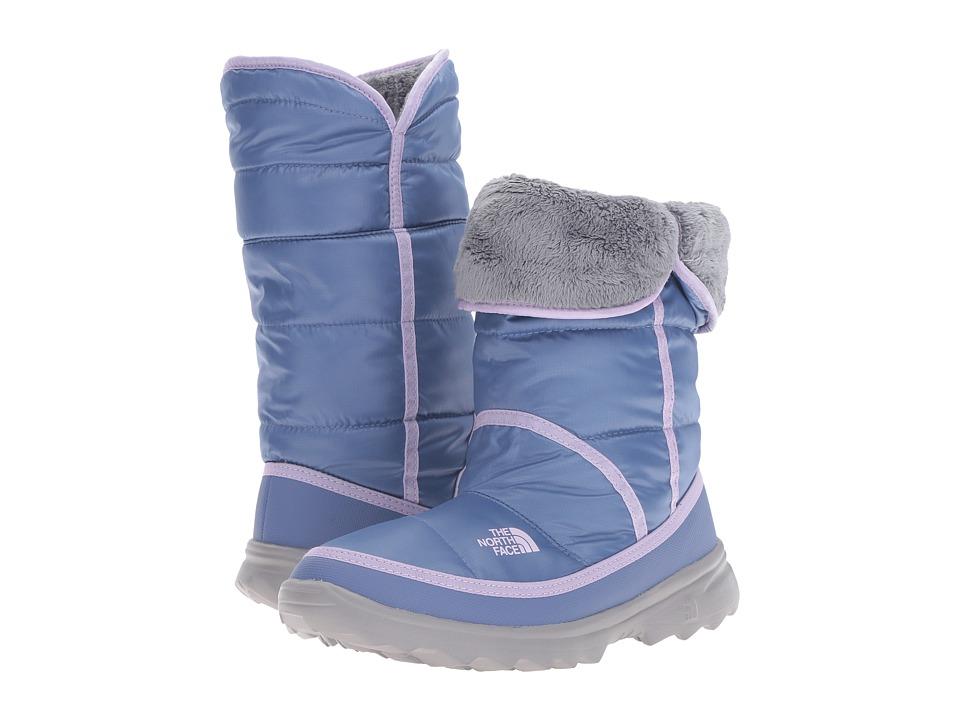 The North Face Kids Amore (Little Kid/Big Kid) (Coastal Fjord Blue/Lupine) Girls Shoes