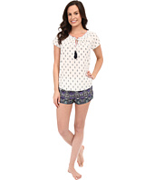 Lucky Brand - Smocked Shorty Set