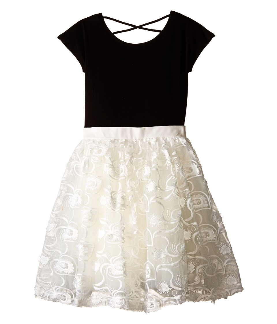fiveloaves twofish Antoinette Dress Big Kids Black/White Girls Dress