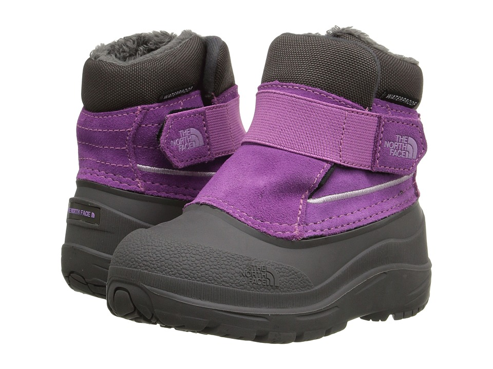 The North Face Kids Alpenglow (Toddler) (Wisteria Purple/Lupine) Girls Shoes